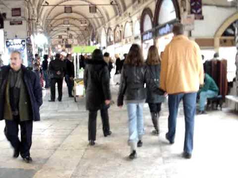 Germany-Rome-Egypt-Turkey: Grand Bazzar Istanbul #4 122409.MPG