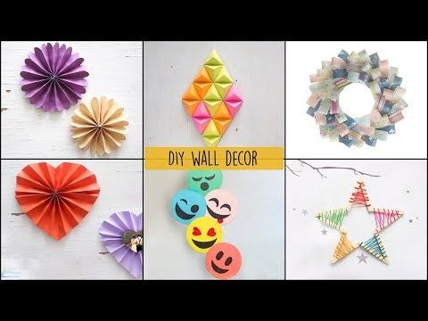6 Cool and Easy DIY Wall Decor Ideas  DIY Room Decor