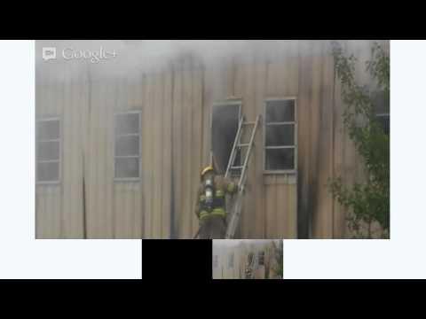 Fire at Bermuda Mechanical Companu