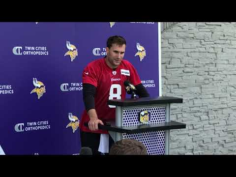 Vikings - Vikings QB Kirk Cousins is THRILLED to have Kyle Rudolph back in the fold