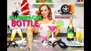 CHAMPAGNE BOTTLE & WINE GLASS CAKES CELEBRATIONS   VERUSCA WALKER