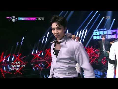Superhuman - NCT127 [뮤직뱅크 Music Bank] 20190524 indir