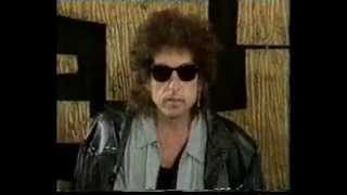 Bob Dylan - (1986, aug. 17) - London press conference - Hearts of fire news film 2