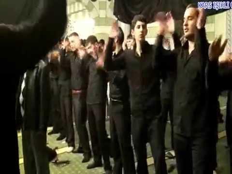 KARS EHLİBEYT IŞIKLI CAMİ 05/11/2013 MUHAREMLİK GÖRÜNTÜSÜ