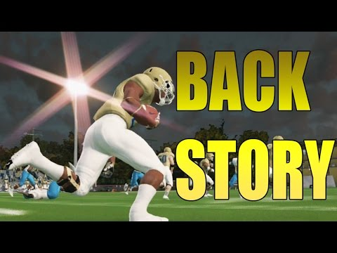 NEW RTG!!! ANDRE MOSS BACK STORY - ROAD TO GLORY HB/MLB