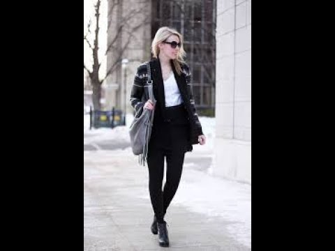 Trendy winter fashion for work outfits