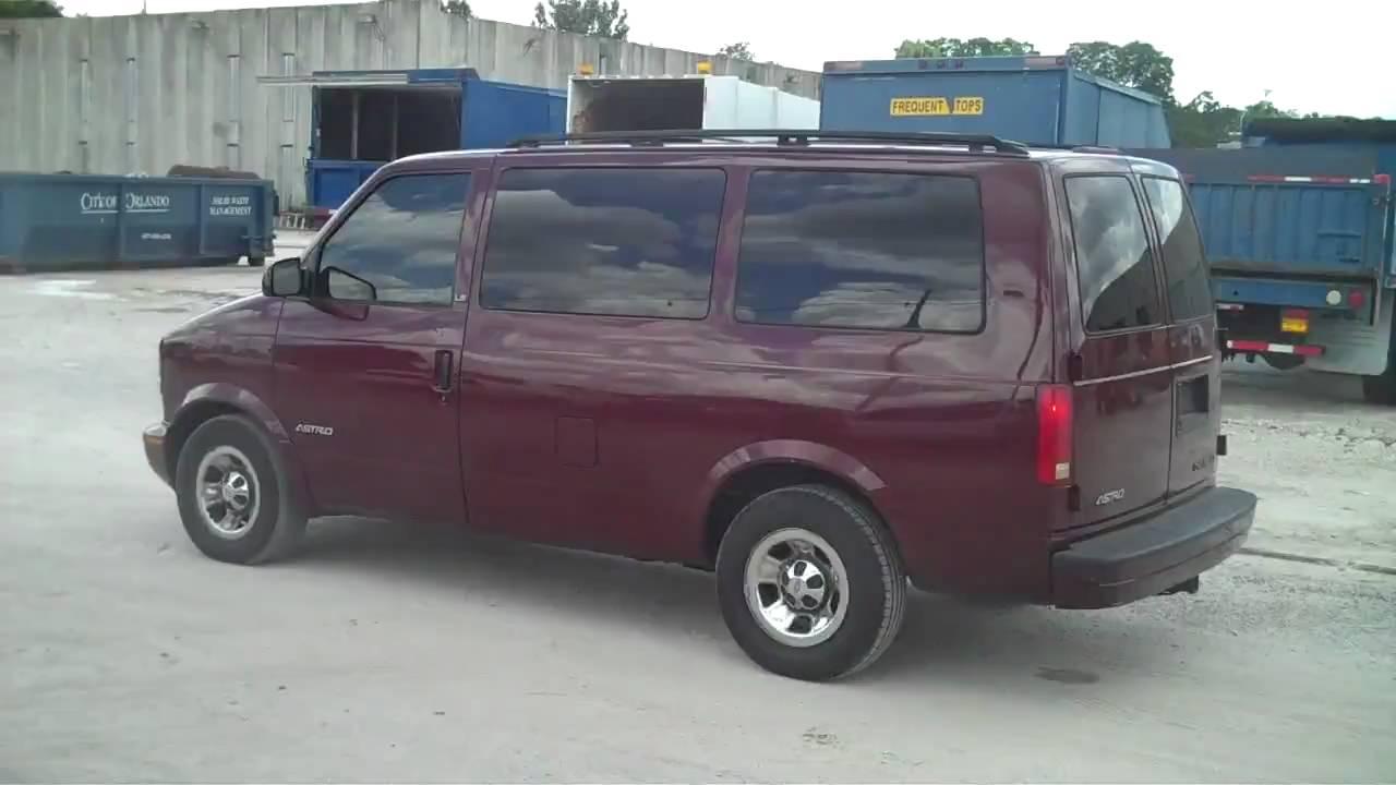 All Chevy 2001 chevy astro van : 2002 Chevrolet Astro Van - YouTube
