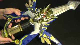 Madan Senki Ryukendo DX GekiryuKen Sword w/ 4 keys From Japan