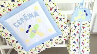 Как  сделать аппликацию на ткани # DIY#   Детское одеяло с аппликацией