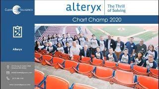 Chart Champ 2020 | Alteryx Workshop