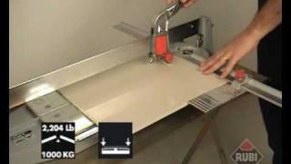 RUBI TI-T Cortadora Profesional de cerámica porcelánico/  Professional Tile Cutter