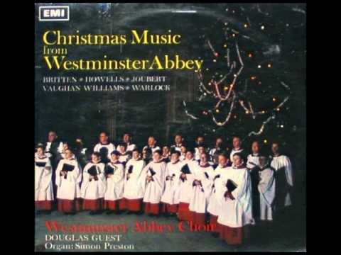 Carols sung by Westminster Abbey Choir conducted by Douglas Guest (1967)