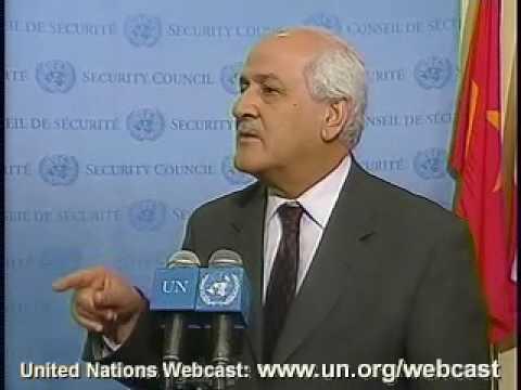 MaximsNewsNetwork: PALESTINE OBSERVER RIYAD MANSOUR @ UN SECURITY COUNCIL