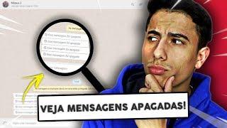 Como ver MENSAGENS APAGADAS no WhatsApp Web