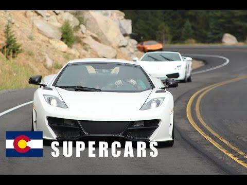 """First Supercar Tour to Golden Colorado Summer """"2013"""""""