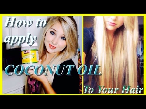 How to Apply COCONUT OIL – Grow Long, Healthy Hair and Repair Damaged Hair