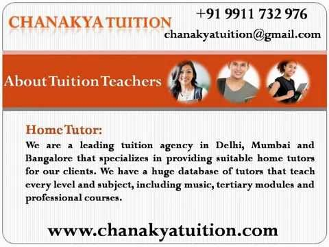 Home tuition in Delhi