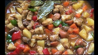 THE BEST MENUDO😋pork menudo/ with recipe/ tagalog