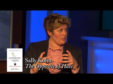 """Sally Kohn, """"The Opposite of Hate"""" (w/ Candy Crowley)"""