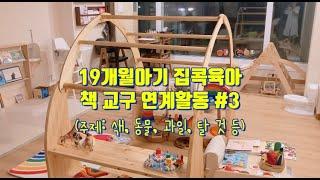 [책육아] 19개월아기 교구와 책 연계활동 3탄 / 집…
