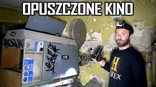 Opuszczone kino z PRL pełne wyposażenia - Urbex History