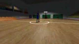 Preview BasketBall Manager 2008 - Terrain & joueur