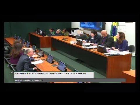 SEGURIDADE SOCIAL E FAMÍLIA - Reunião Deliberativa - 29/05/2018 - 12:10
