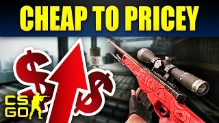 Top 10 Cheap CS:GO Skins That Became Expensive