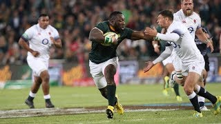 Gambar cover 15 Great Springbok Tries Against England - 2010 to 2018