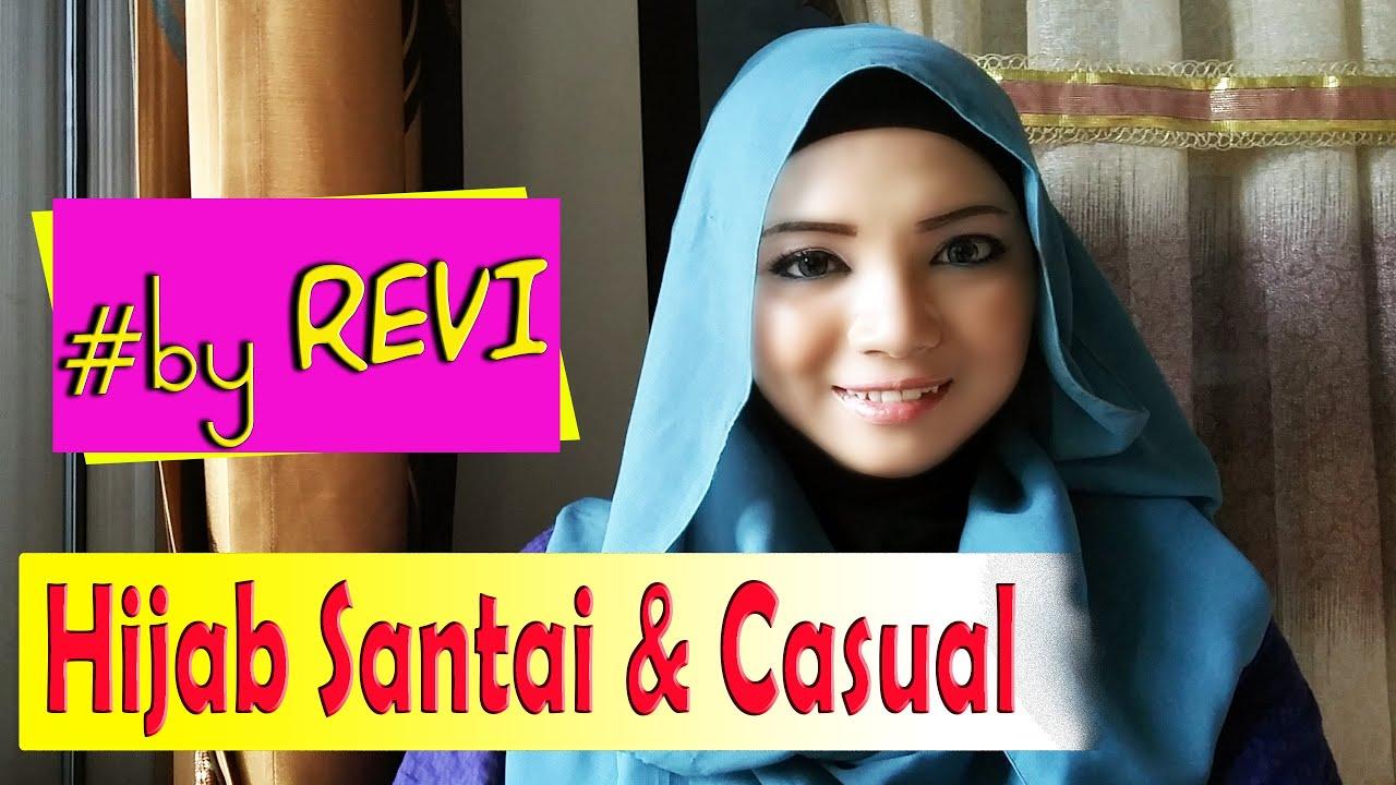 Tutorial Jilbab Pashmina Untuk Acara Santai Casual Revi 223