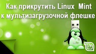 Как установить Linux Mint на мультизагрузочную флешку.