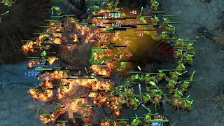 200 Creeps Unstoppable Push Force Dota 2