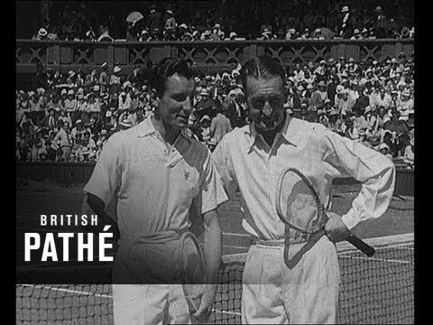 Fred Perry Wins Wimbledon - Highlights, 1934