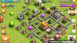 Clash of clans#3 muitos ataques vocês vão gostar