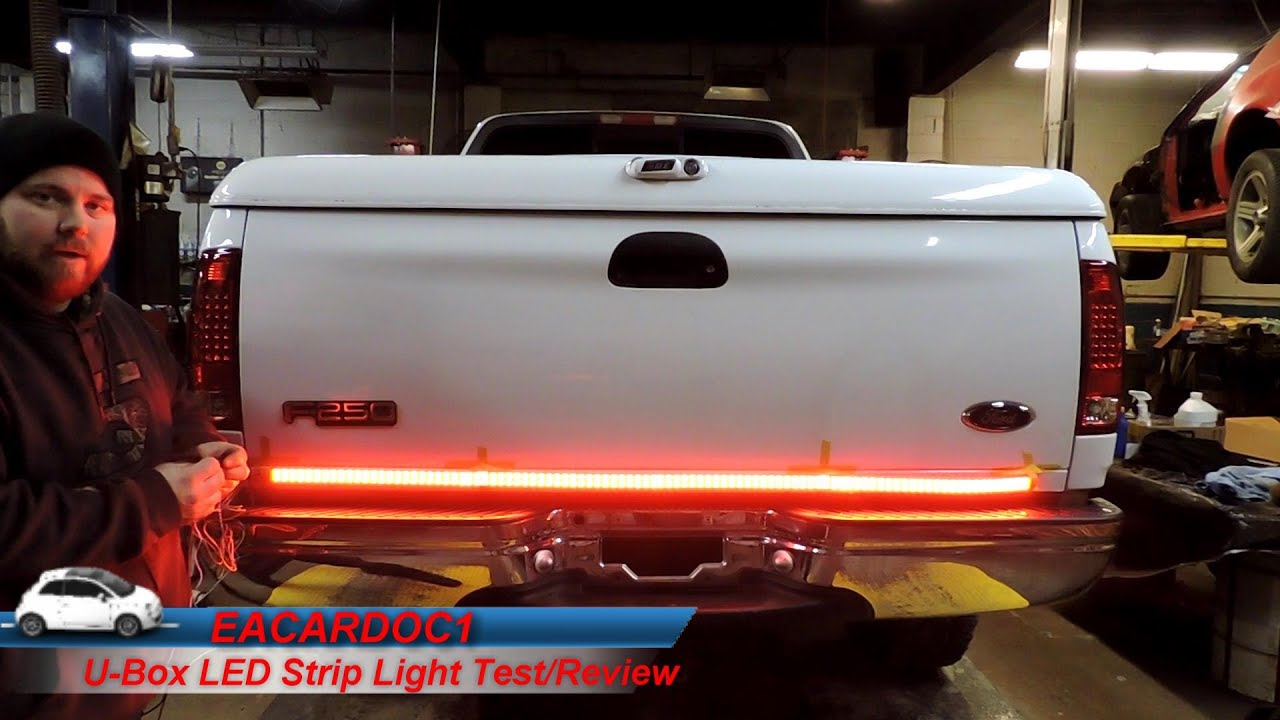 strip Tailgate led light