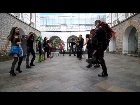 CyberGoth Ecuador Industrial Dance Video Masivo 2014