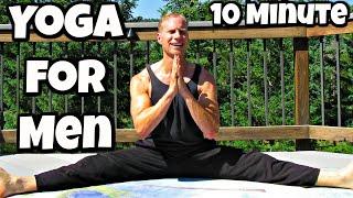 10 min Yoga for Men Power Yoga Total Body Workout   Sean Vigue Fitness
