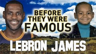Lebron james - before they were famous - highlights from before the cleveland cavaliers