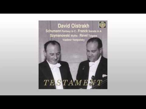 Ravel Tzigane - David Oistrakh, Vladimir Yampolsky
