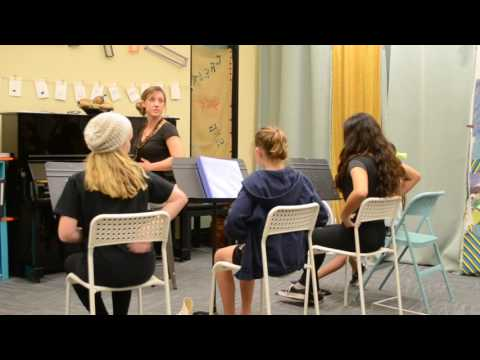 Behind-the-Scenes at Theatre Arts School of San Diego - Musical Theatre Vocal Styles Class