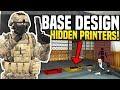 HOW TO HIDE MONEY PRINTERS - Gmod DarkRP   Best Base Design!