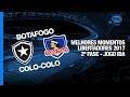 Resumo: Botafogo 2-1 Colo-Colo (1 February 2017)