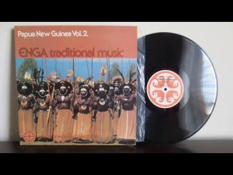 Papua New Guinea -  Enga Traditional Music (197?) -   Vinyl Reincarnation