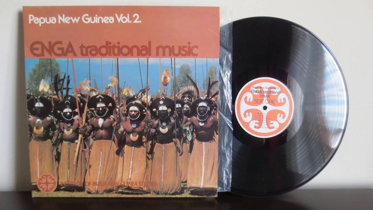 Papua New Guinea Enga Traditional Music 197 Vinyl Reincarnation Youtube