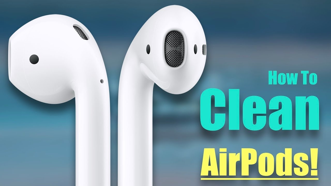how to clean airpods reddit