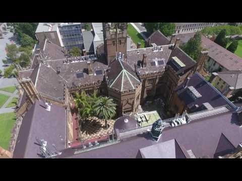 The University of Sydney --The Quadrangle