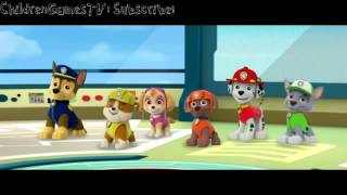 Щенячий патруль видеоигра на английском для детей смотреть играть #3