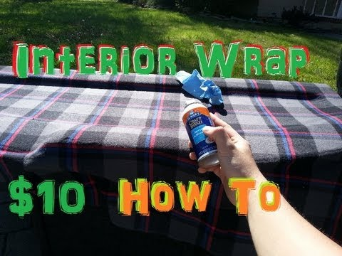 10 mod how to wrap interior pieces fabric plaid youtube. Black Bedroom Furniture Sets. Home Design Ideas