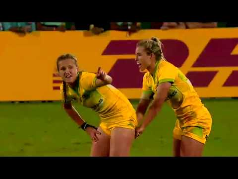 Women's Final Dubai Sevens 2017 - USA Vs Australia