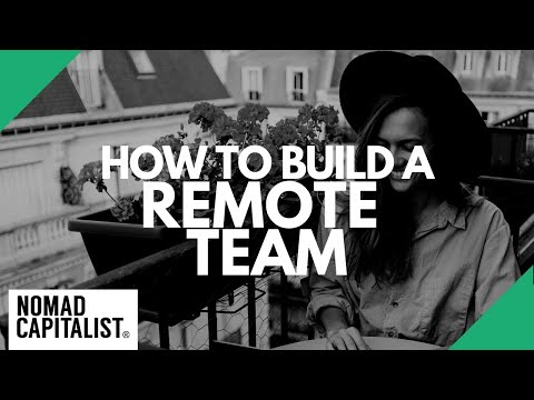 How to Build a Distributed Remote Team